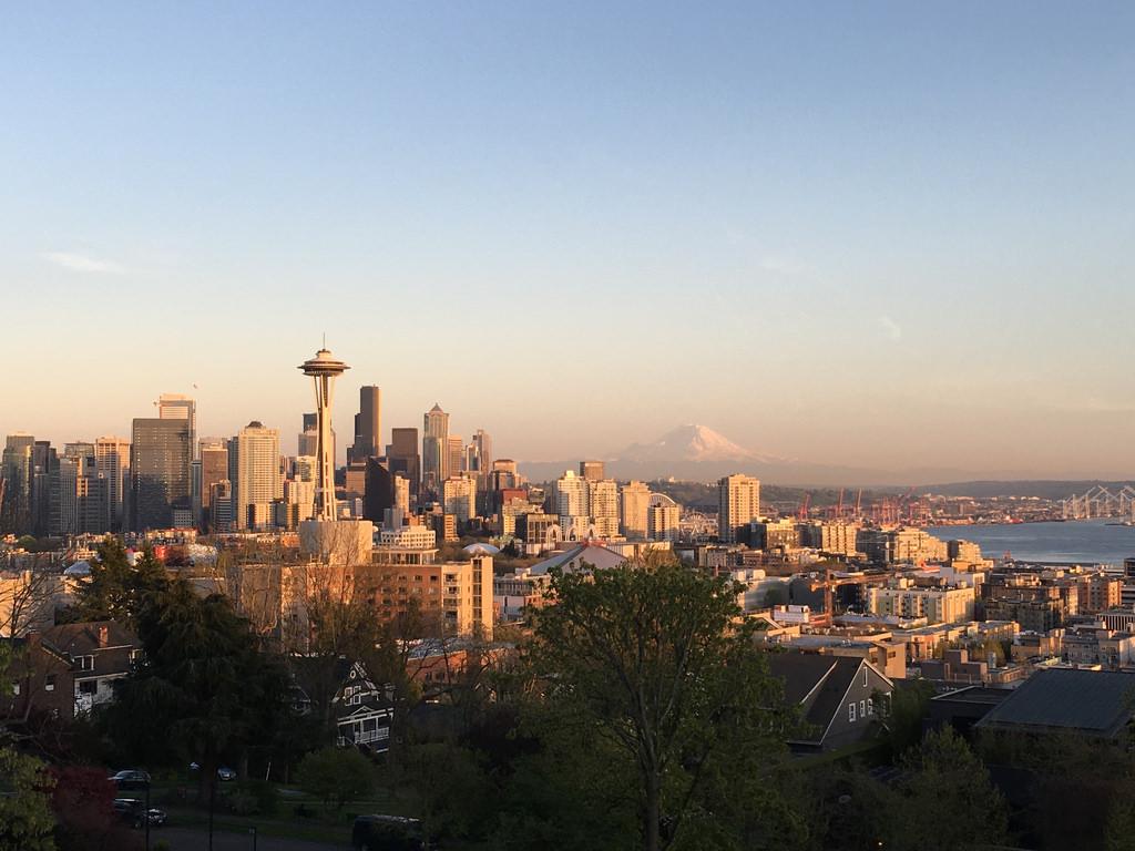 Tiempo Abril Seattle