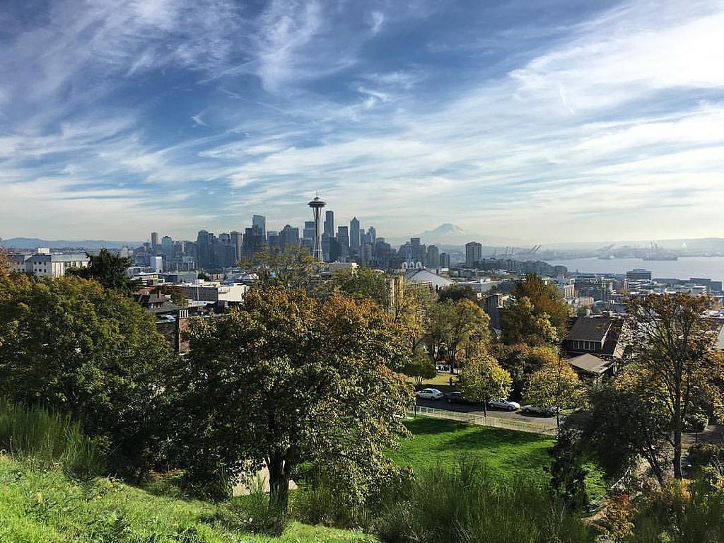 Tiempo Octubre Seattle