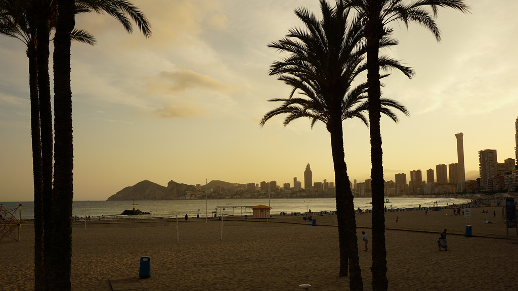 Weather-July-Benidorm